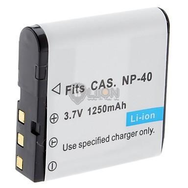 Casio NP-40 utángyártott kamera akku
