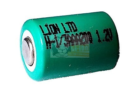 Ni-Mh 1,2V 1/3AAA battery cell