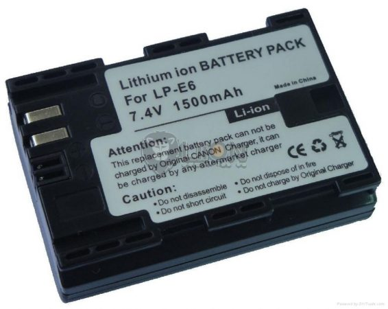 CANON LC-E6 Digital Camera Battery - Replacement