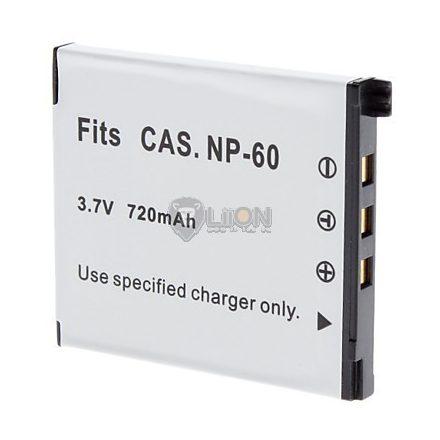 Casio NP-60 utángyártott kamera akku