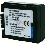 Panasonic CGA-DU07 utángyártott kamera akku