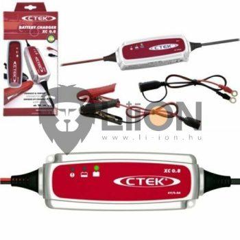 CTEK XC 0.8 6V-os autó akkumulátor  töltő 56-770