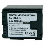 Replacement Camcorder Battery for CANON BP-819