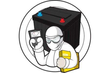akkumulátor töltő szerelés