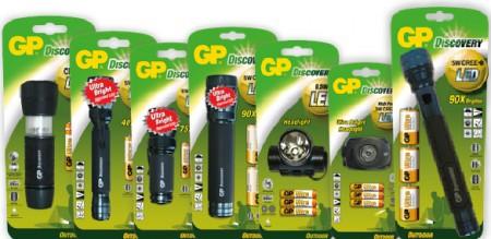 GP elemlámpák