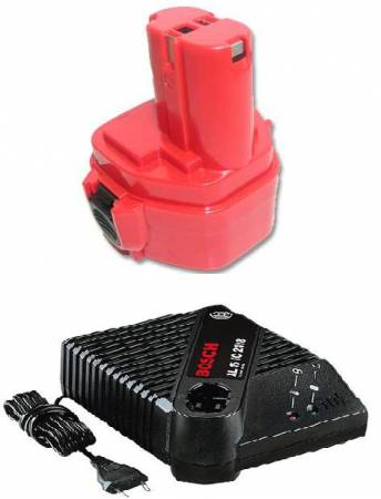 Machine tool batteries and chargers (LION)