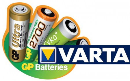 Chargeable batteries AA,AAA,C,D,9V